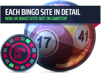 image of each online bingo site not on GamStop in detail