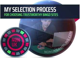 bingo sites selection process image
