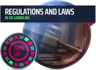 Non UK Gambling regulations and laws